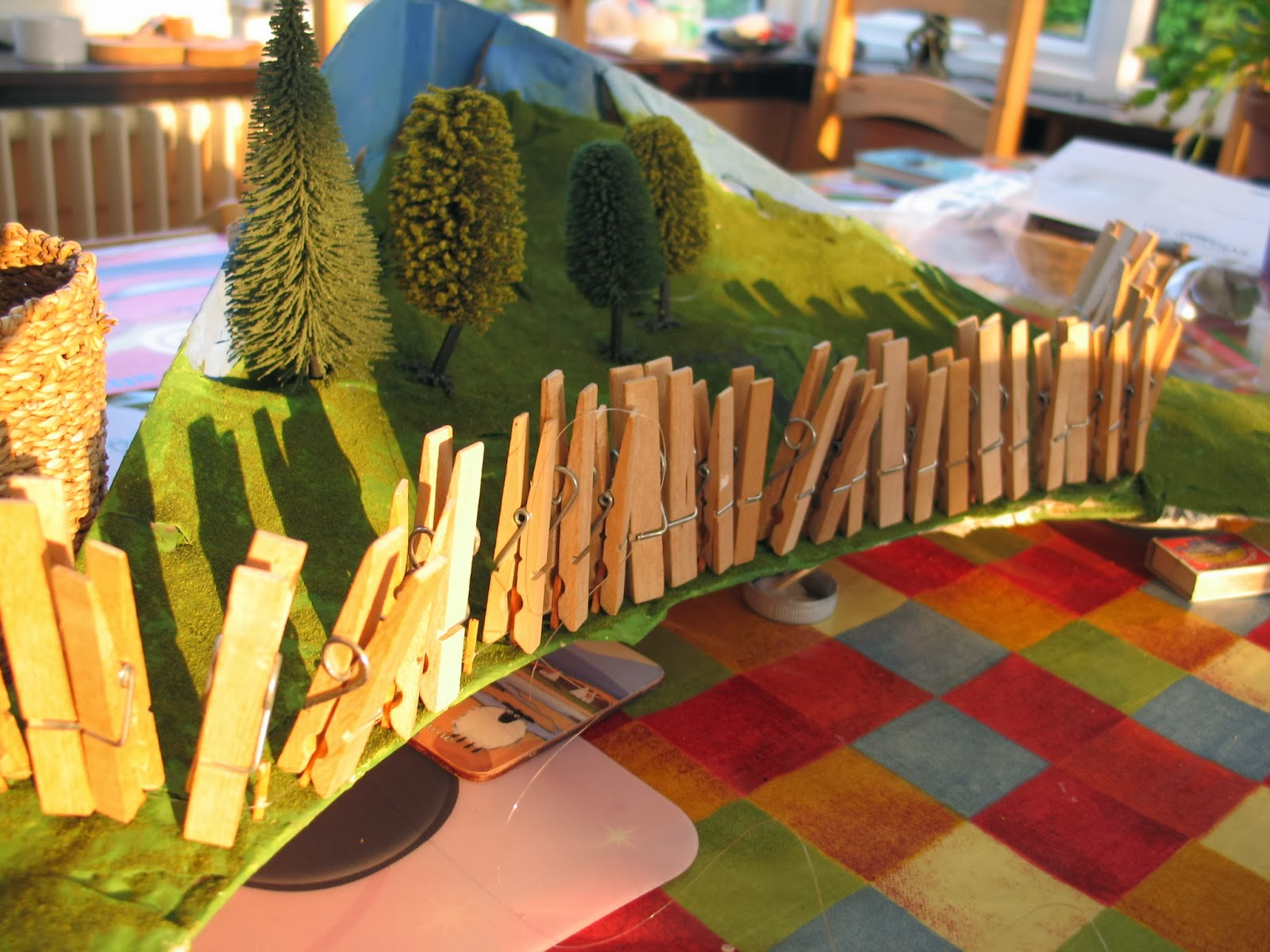 Ink-spots and grass-stains: Progress on the model railway