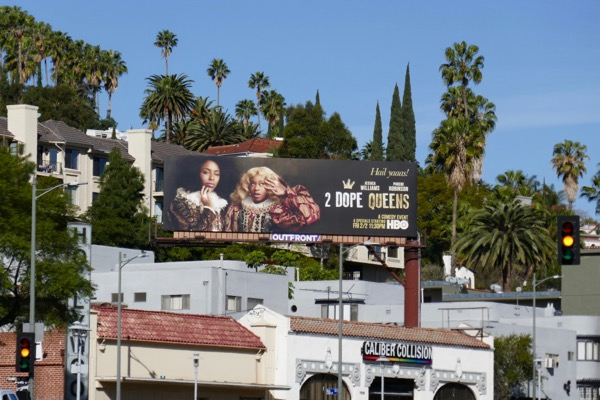 2 Dope Queens billboard