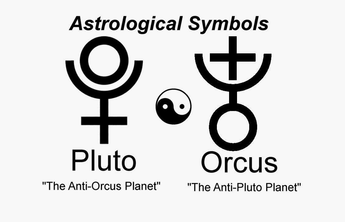 Did you or I think it first?: Astrological Symbol for Orcus