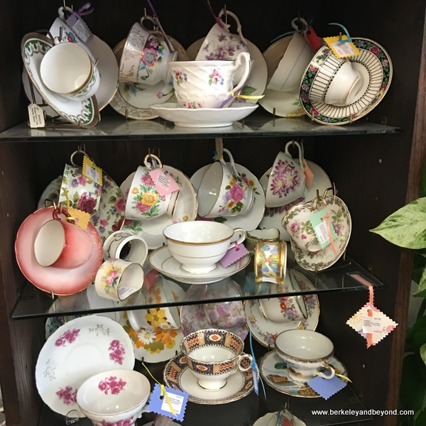 tea cups at The Steffen Collection Antiques in Benicia, California