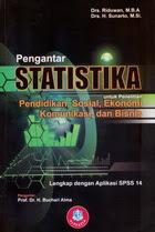 Pengantar Statistika untuk Penelitian Pendidikan,Sosial, Ekonomi