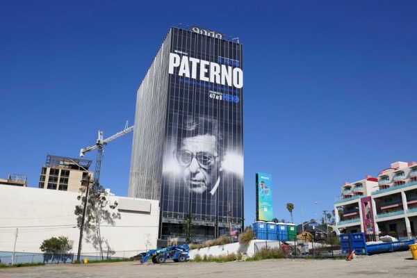 Giant Paterno HBO movie billboard