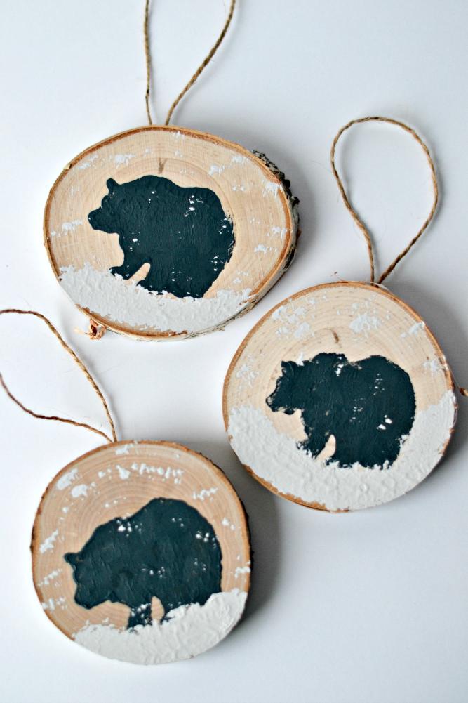 The Life Of Jennifer Dawn Diy Wood Slice Ornament