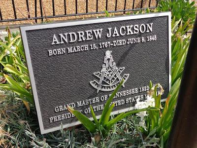 Andrew Jackson grave