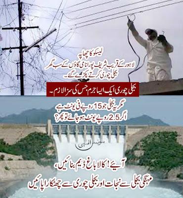 آئیے کالاباغ ڈیم بنائیں ،مہنگی بجلی سے نجات