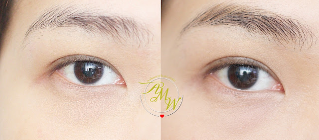 a photo of Cathy Doll RealBrow 4D Tattoo Tint review in shades Light Brown_AskMewhats