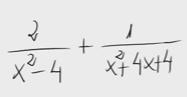 1.Suma de fracciones algebraicas 1