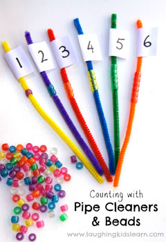 Counting with Pipe Cleaners and Beads