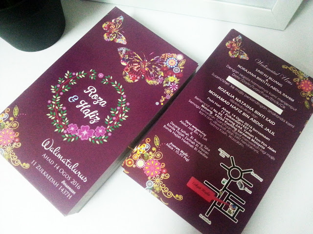 invitation card murah