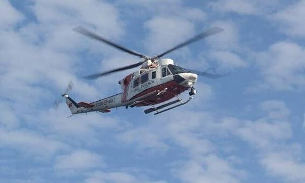 Ιδιωτικό ελικόπτερο κατέπεσε στον Πόρο. Μπλακ άουτ στο νησί - Οι πρώτες εικόνες και βίντεο