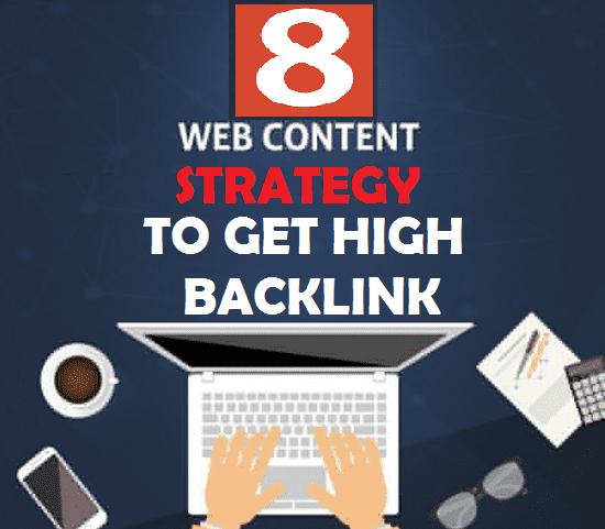 8 Rahasia Konten Untuk Mendapatkan Backlink Ke Situs Anda