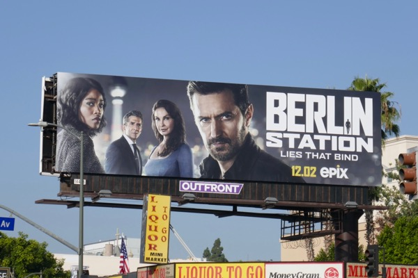 Berlin Station season 3 billboard