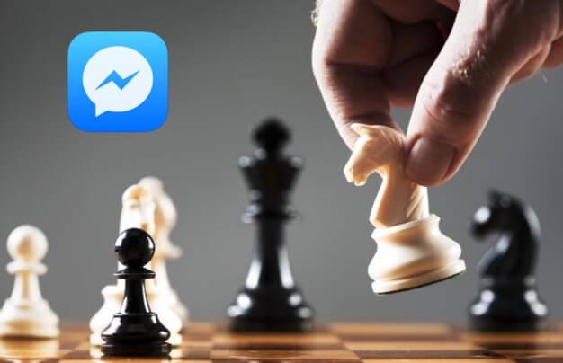 Juego Ajedrez Facebook Messenger