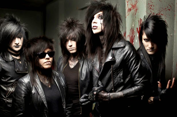 black veil brides - band