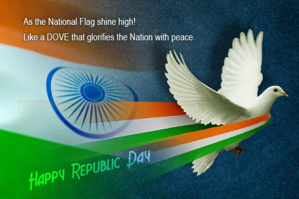 Beautiful Wishes, Greeting And Thoughts For Happy Republic Day 2018