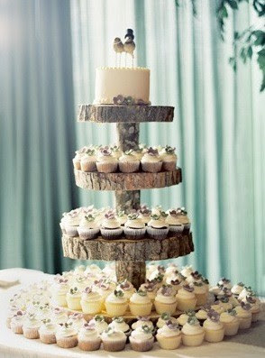 Happy Healthy Home: Wedding Wednesday\'s :: DIY Cupcake Stand