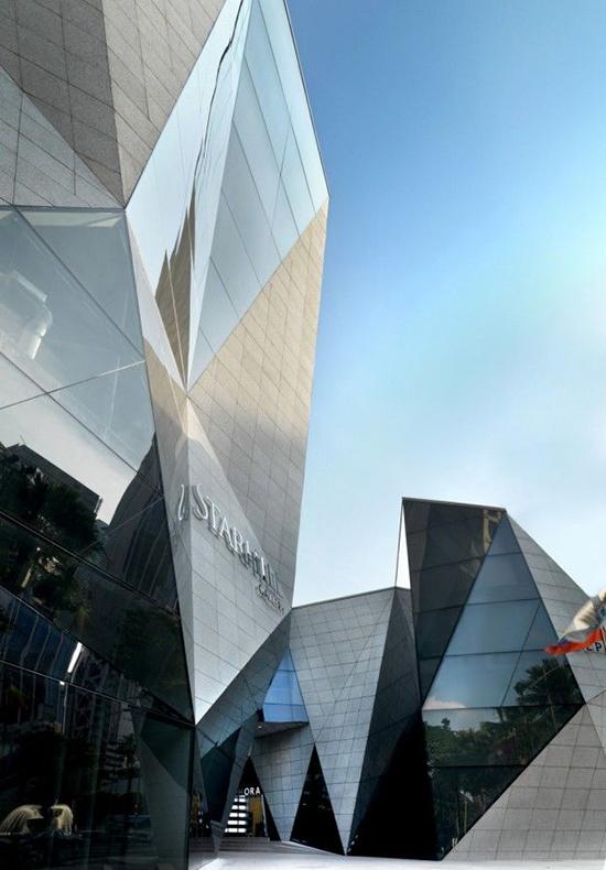 Bangunan arsitektur dan origami