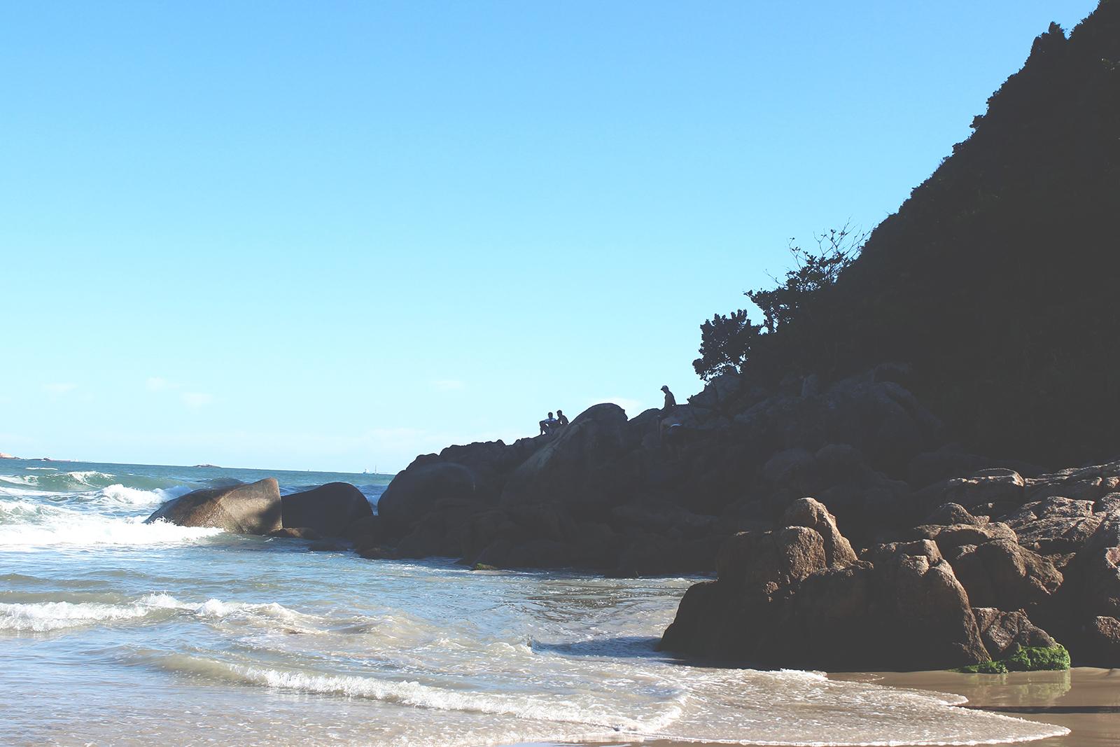 pedras praia brasil