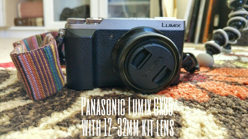 my new panasonic lumix gx85 with 12-32mm kit lens