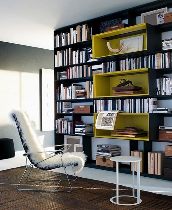 Interesting Home Library Designs For Modern Homes: Cómo Decorar La Biblioteca Del Hogar