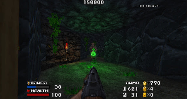 Doom - The Golden Souls 2 - The game looks even better with Beautiful Doom mod