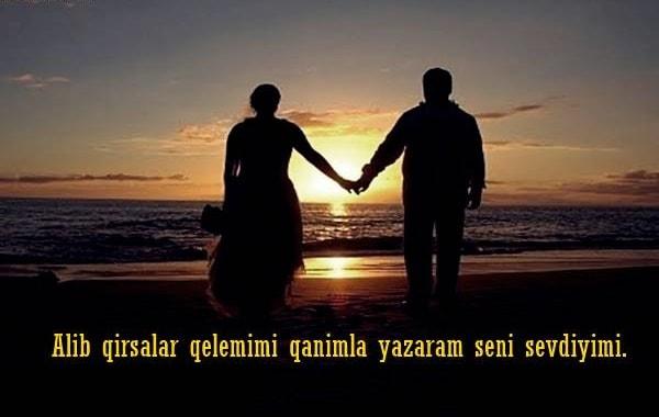 En Güzel Azerice Aşk Sözleri