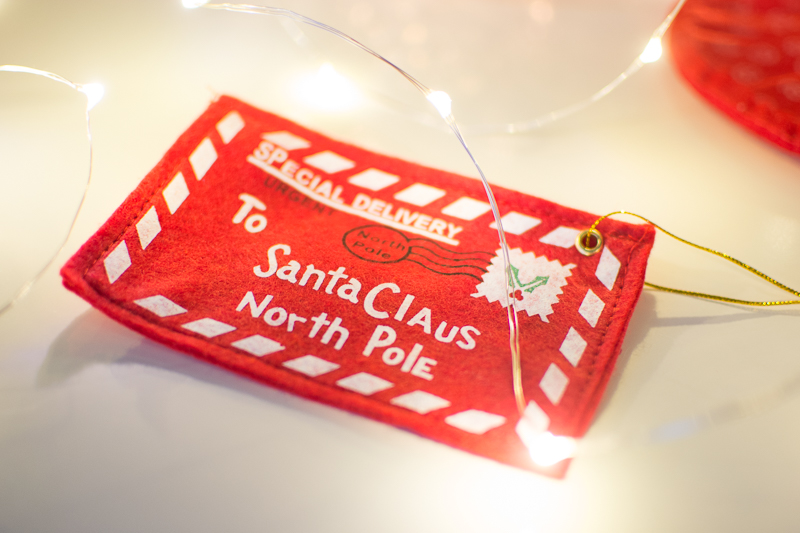 Christmas Gift Guide and Giveaway letter to santa decoration