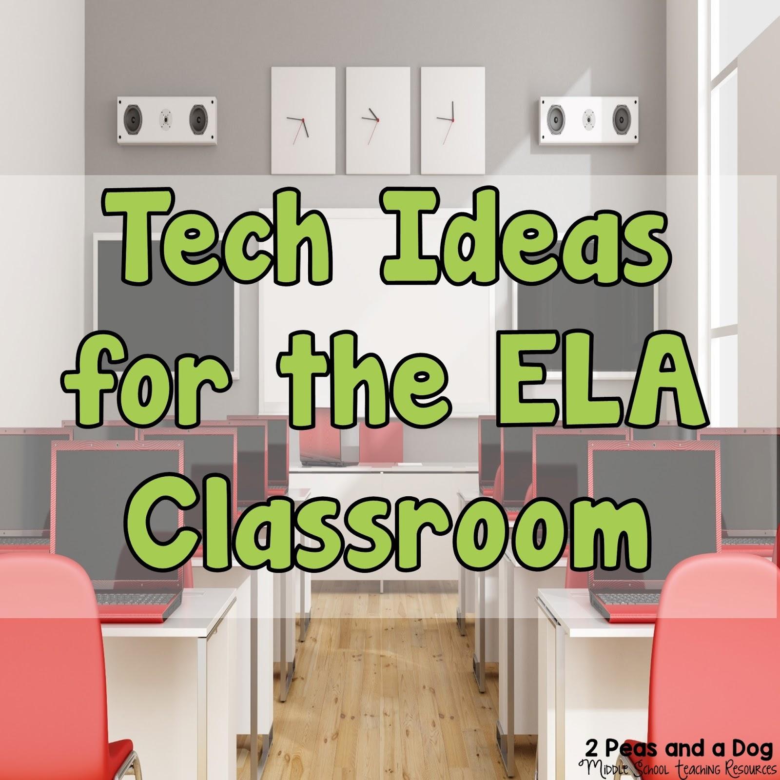 English Language Arts Classroom Decorations ~ Technology ideas for the english language arts classroom