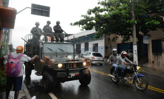 Sem acordo, greve de policiais no ES provoca escalada de medo
