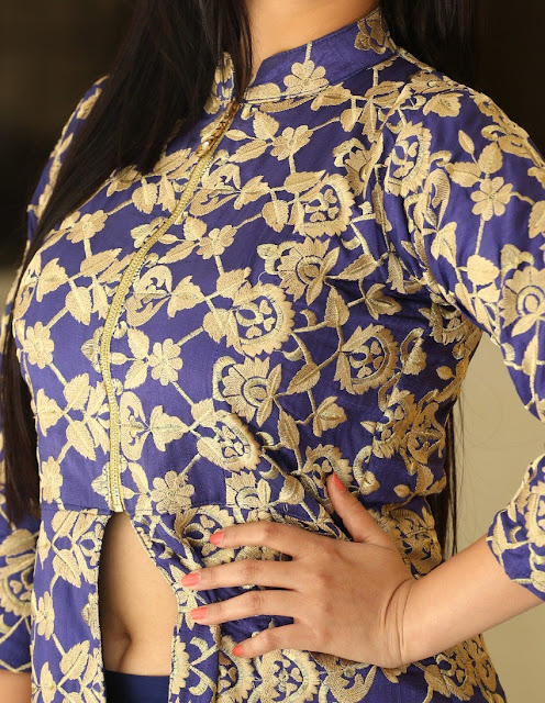Mouryaani nude deep naval heroine opening her dress Hi-Resolution Posters