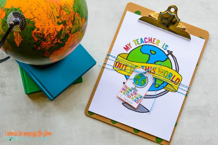Globe Printable