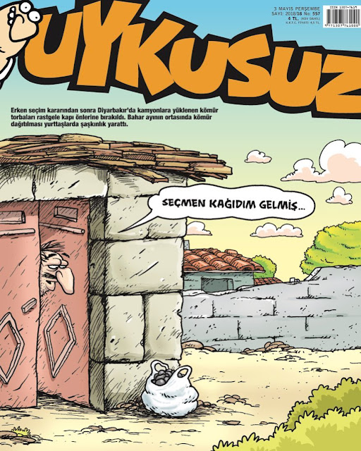 uykusuz 3 may 2018 cover