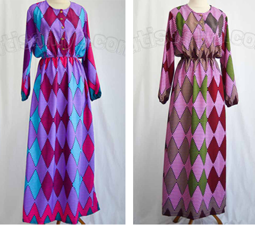 model baju kain rangrang