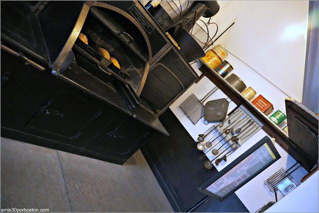 Hornos de la Cocina de Marble House, Newport