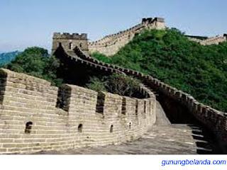 Tembok Besar Cina Dahulu Digunakan Sebagai Benteng