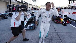FÓRMULA 1 - Desastroso GP para Vettel en Suzuka mientras que Hamilton se gustó toda la carrera