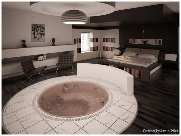 Modern and Stylish Bedroom Interior Design - INDI ZOOM