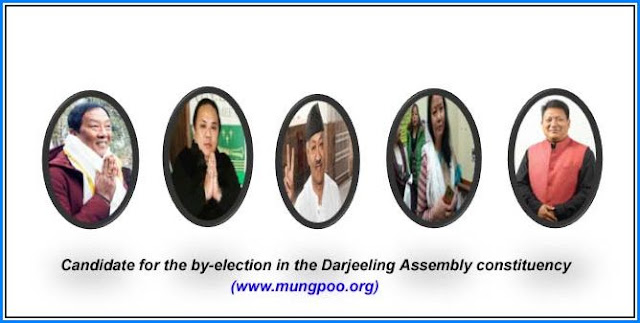 Candidate for the by-election in the Darjeeling Assembly constituency