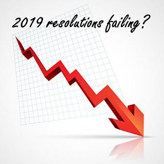 2019 resolutions failing? down arrow over a graph