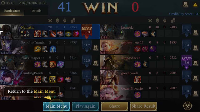 cheat mod aov kebal
