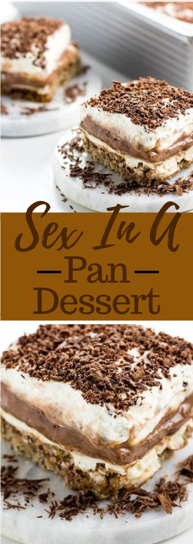 SEX IN A PAN DESSERT RECIPE #dessert #easy