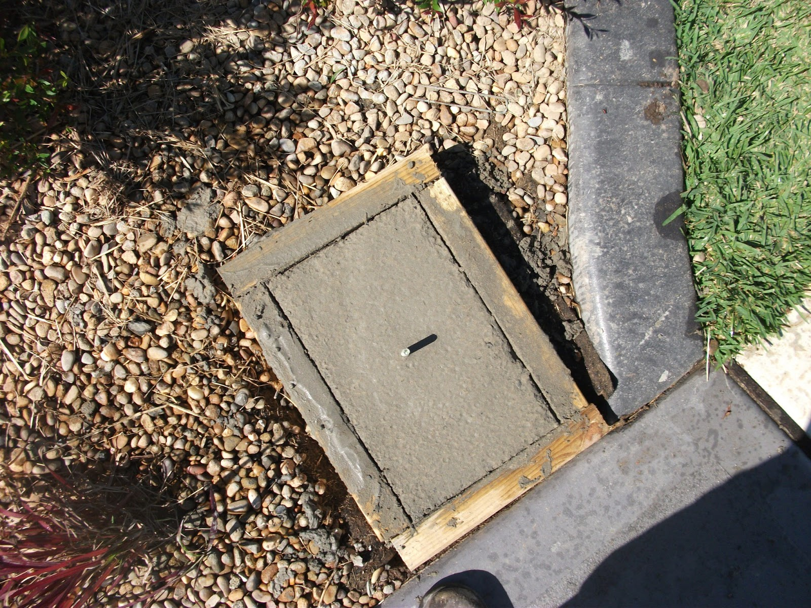 Small Concrete Slab : Dirty deeds co small concrete slabs