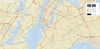 New York Street View Map Image