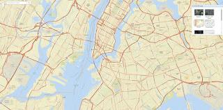 New York Street View Map Image