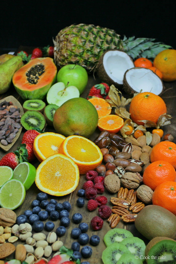 frutas, fruits