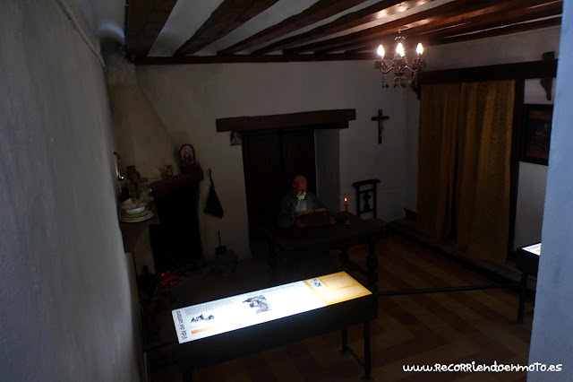 Recreación santero ermita S. Saturio, Soria