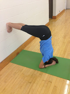 salamba shirshasana