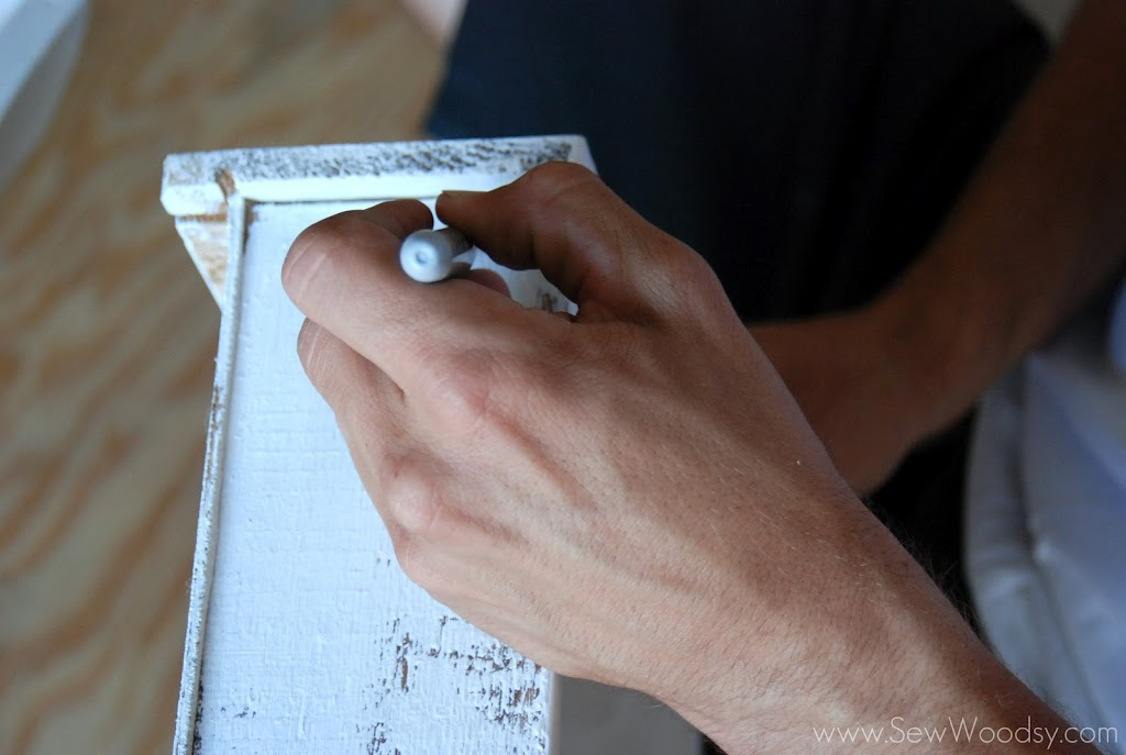 Click To Buy Paint - Cheap Antique Nightstand Revamp