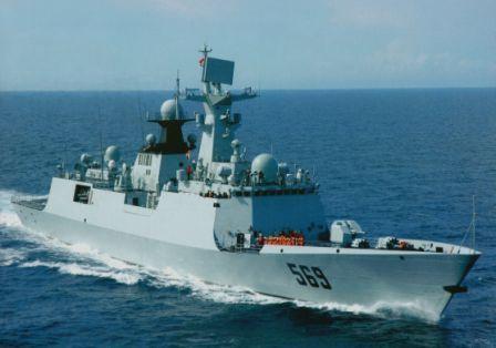 Cina mengirimkan kapal perang ke Filipina