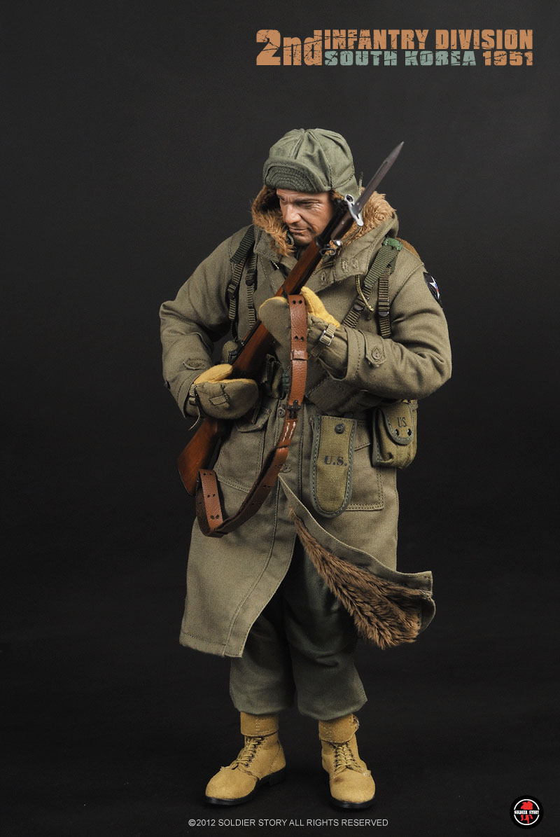 Preview Soldier Story 1/6 scale US Army 2nd Infantry ...